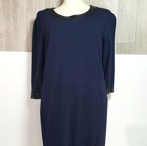 Lord & Taylor 3/4 Sleeve Dress